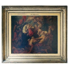 William Etty RA; The Virgin & Infant Saviour with Saints; after Rubens