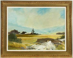 William Eyre (1891-1979) - Signed and British Framed Oil, Watendlath Valley