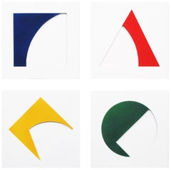 Set of Four Primary