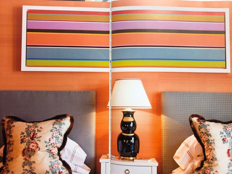 Original Abstract Color Block Stripe Painting  For Sale 3