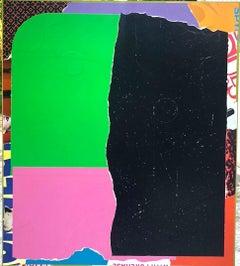 """Original Painting on Panel Titled: """"Let em Live"""""""