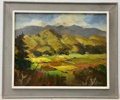 "William (Will) Frates ""Fertile Valley"" Original Oil Painting C.1950"