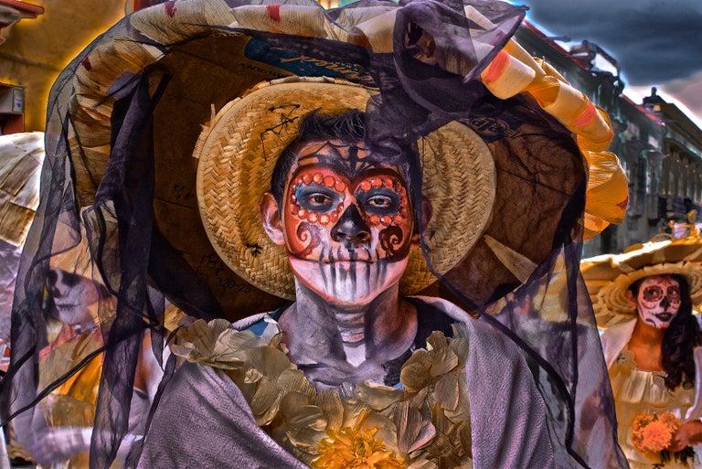William Frej Figurative Photograph - Day of the Dead, Oaxaca, Mexico