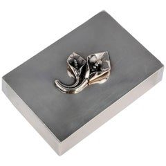 William G. Matteo Sterling Silver Box