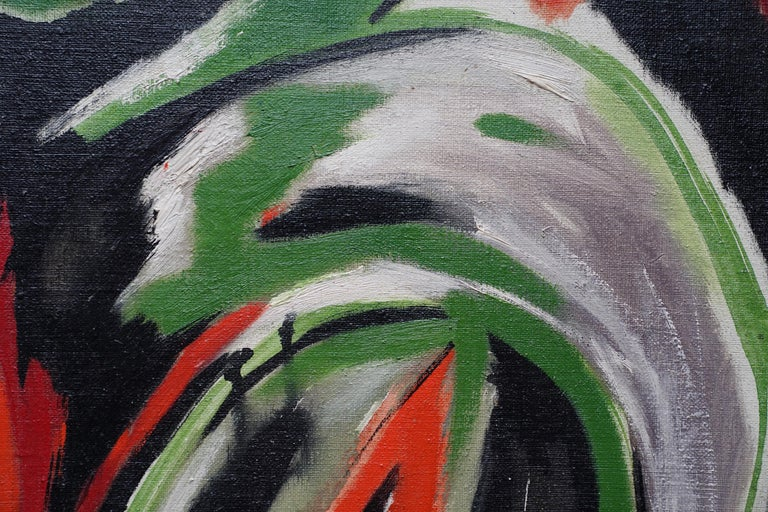 Spring Passage - Scottish art Abstract Expressionist oil painting Cobra Paris  For Sale 2