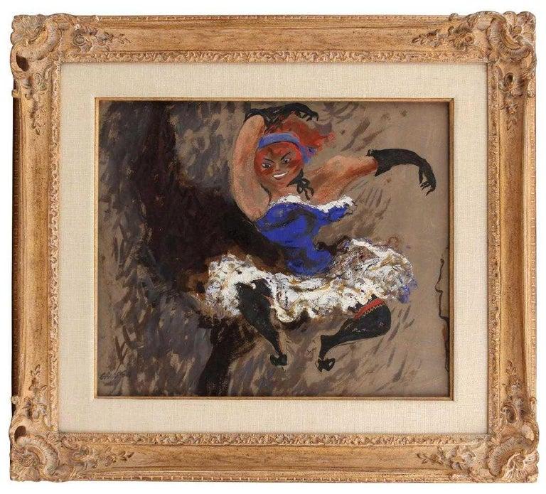 """Cabaret Dancer"" - Post-Modern Painting by William Gropper"
