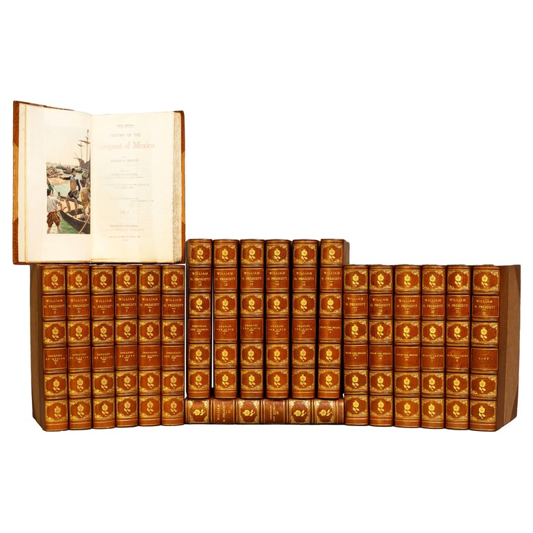William H. Prescott, The Works For Sale