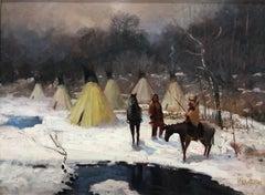 Native American Encampment
