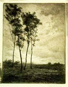 UNTITLED - LANDSCAPE WITH FOUR TREES