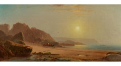 Coastal Scene with Figures