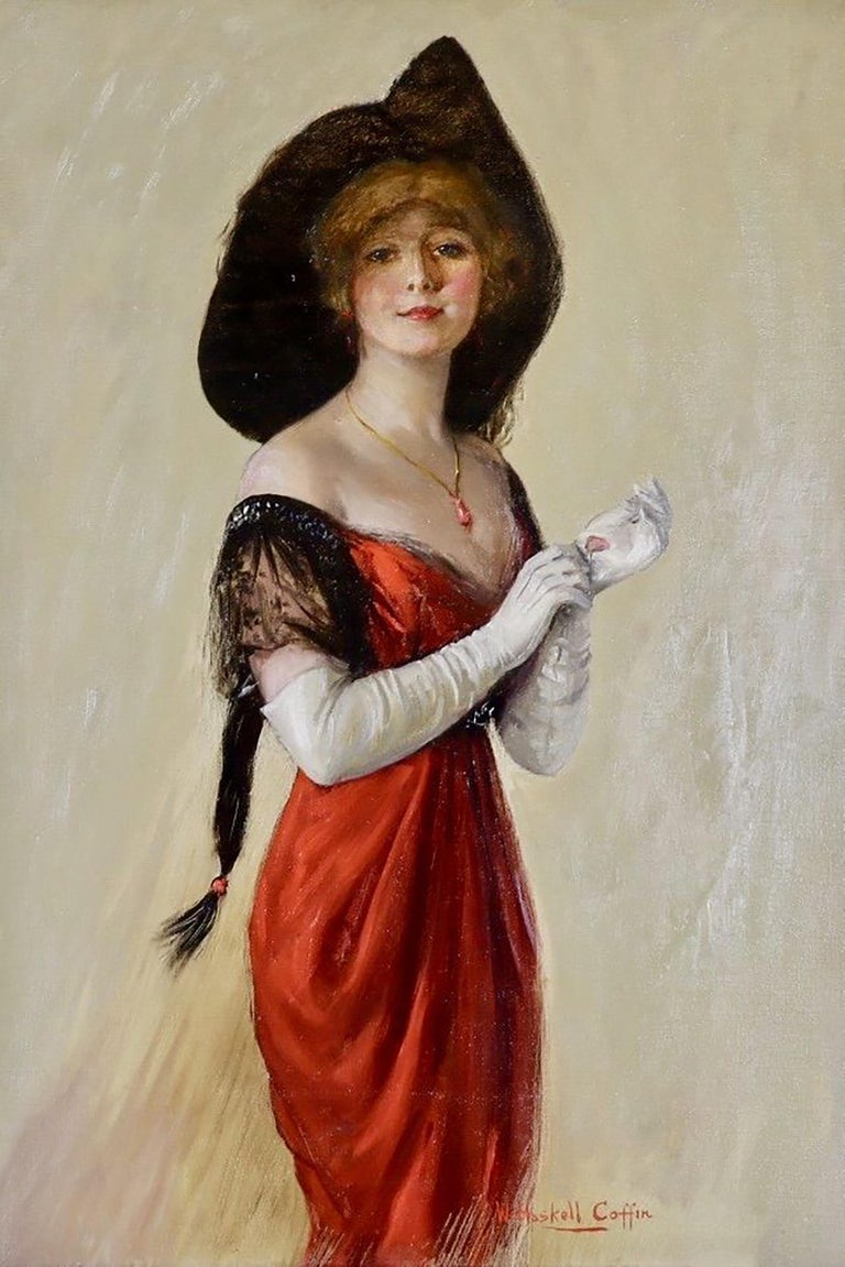 William Haskell Coffin Portrait Painting - Collier's Magazine Cover
