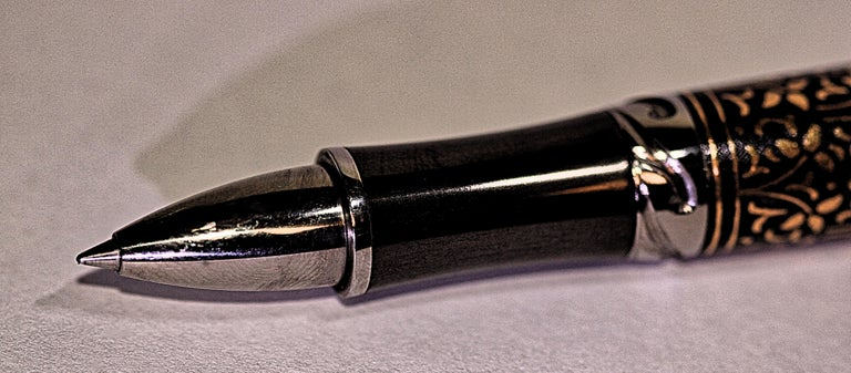 William Henry Cabernet Ivy Limited Edition Roller Ball Pen For Sale 2