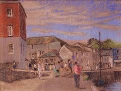 Cornish Seaside - Mid - Late 20th Century Impressionist Oil by William Innes
