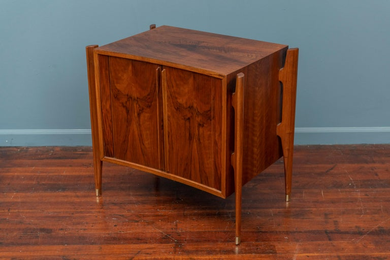 Swedish William Hinn Exoskeleton Side Table or Cabinet for Urban Furniture For Sale
