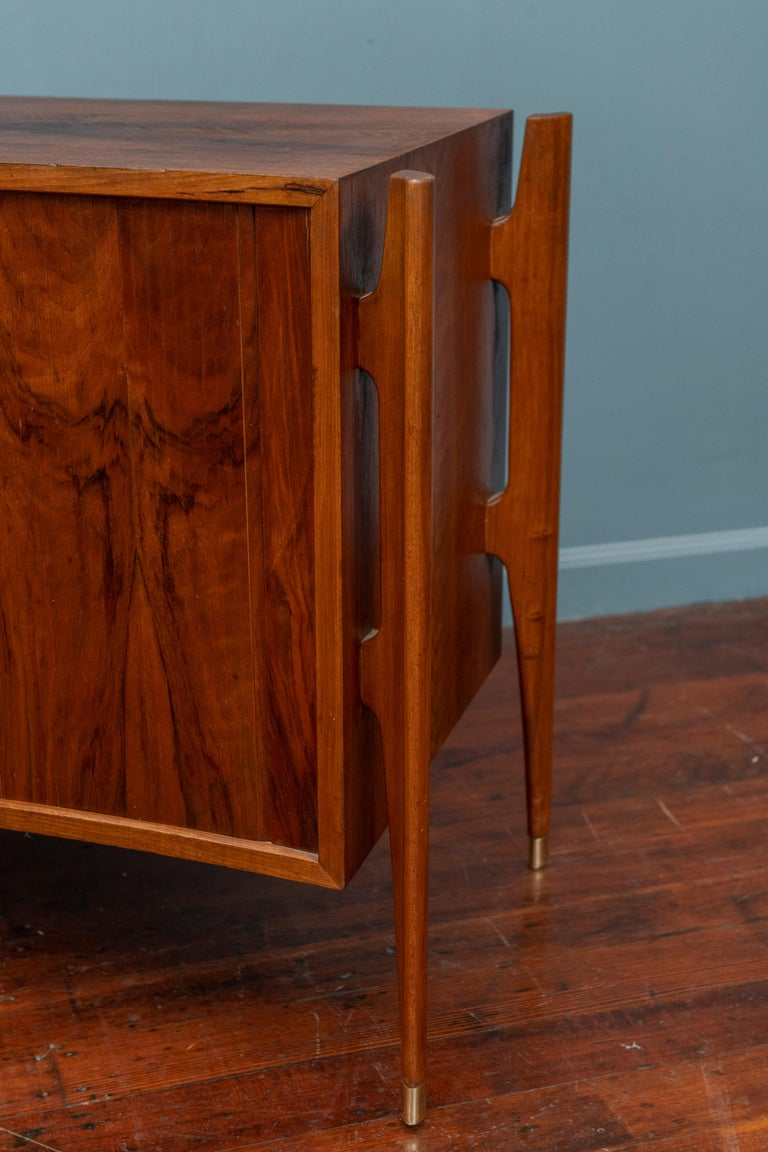 Mid-20th Century William Hinn Exoskeleton Side Table or Cabinet for Urban Furniture For Sale