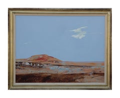 Sublime Naturalistic Desert Landscape Painting