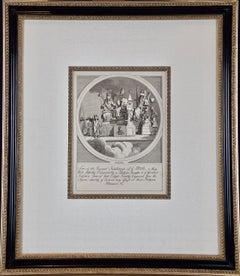 18th Century Satirical Engraving by William Hogarth