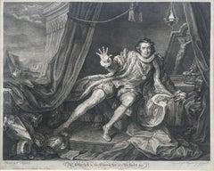 Mr. Garrick in the Character of Richard the 3rd  - FINE IMPRESSION
