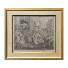 """The Enraged Musicians"" Original Baroque Etching"