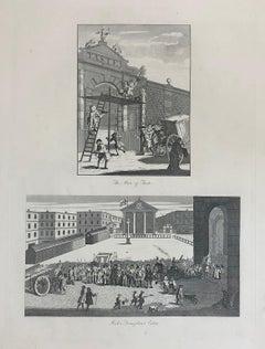 William Hogarth (1697-1764) The Man of Taste / Rich's Triumphant Entry