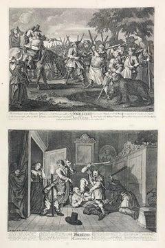 William Hogarth (1697-1764) Hudibras's First Adventure/Hudibras Catechiz'd
