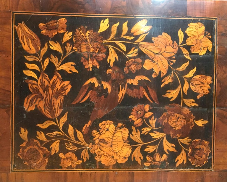 William III Marquetry Longcase Clock by Stephen Rayner, London In Good Condition In Devon, GB
