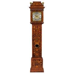 William III Marquetry Longcase Clock by Stephen Rayner, London