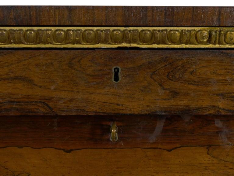 Office Desk Circa 1835 Secretary Desk Antique English William IV Rosewood Secr\u00e9taire \u00e1 Abattant Desk