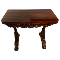 William IV Irish Tea table, by Wiliams & Gibton