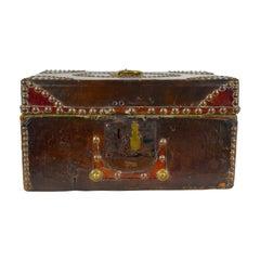 William IV Leather-Clad Document Box