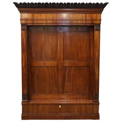 William IV Mahogany Cue Rack or Stand