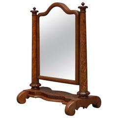 William IV Mahogany Dressing Mirror Toilet Mirror