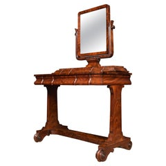 William IV Mahogany Dressing Table