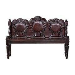 William iv Mahogany Hall Bench