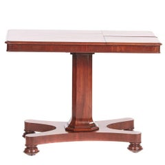William IV Mahogany Reading Table