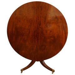 William iv Mahogany Small Dining Table