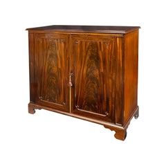 William IV Mahogany Two Door Cabinet by Gillows