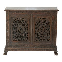 William IV Period Anglo-Indian Rosewood Cabinet