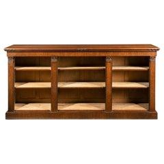 William IV Period Low, Open, Bookcase