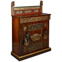 William IV Period Rosewood Cabinet
