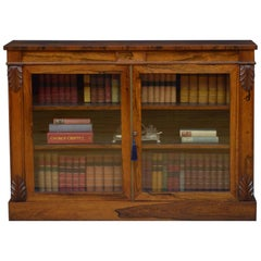 William IV Rosewood Chiffonier / Bookcase