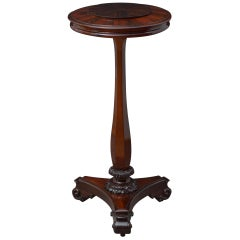 William IV Rosewood Plant Stand