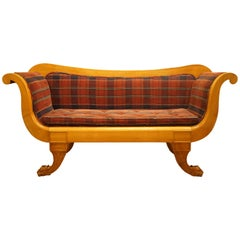 William IV Satin Walnut Sofa
