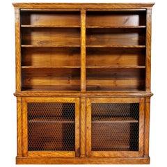 William IV Satinwood Bookcase