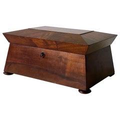 William IV Sewing Box of Mahogany
