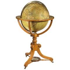 William IV Terrestrial Globe by Cruchley