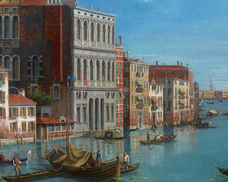 View of the Grand Canal, Venice - Other Art Style Painting by William James