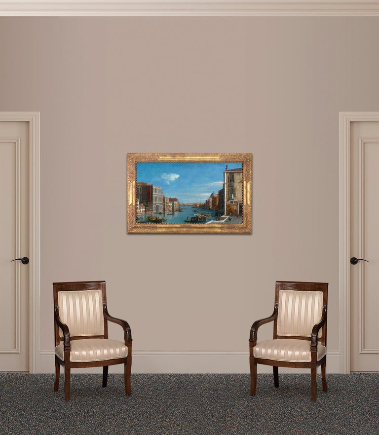The legendary Venetian Grand Canal is the subject of this brightly-hued scene by the 18th-century British artist William James. His highly detailed canvases earned him a reputation among the leading painters of Venice of his day. In the present