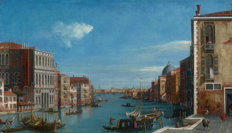 William James Landscape Painting - View of the Grand Canal, Venice