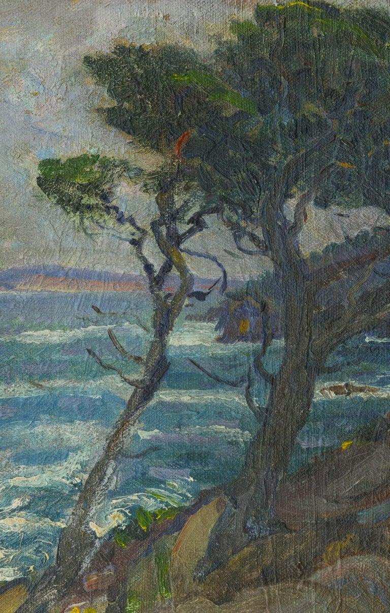 Point Lobos, California - Painting by William John Edmondson